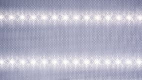 Рефлектор светоизлучающего диода утопил в потолок Стоковые Фотографии RF