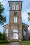 Реформированная церковь, залив Александрии, Нью-Йорк стоковое изображение