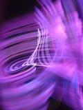 Рефракция света прикладной на ноче Стоковое фото RF