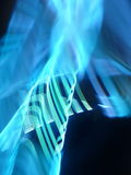 Рефракция света прикладной на ноче Стоковые Фотографии RF