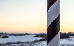 Рефлектор прокладки стикера столба дороги сторона дороги Стоковые Изображения