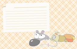 рецепты мыши Стоковые Фото