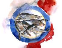 рецепты рыб свежие Стоковые Изображения