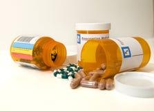 рецепт лекарства Стоковые Изображения RF