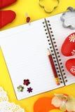 рецепт пасхи книги Стоковое Изображение RF