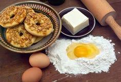 Рецепт печений Стоковые Изображения RF