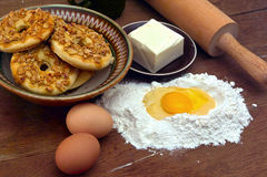 Рецепт печений Стоковая Фотография RF