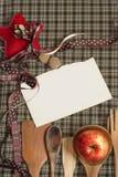 Рецепт рождества Стоковая Фотография