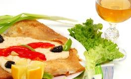 Рецепт рыб стоковая фотография rf