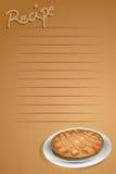 рецепт страницы бесплатная иллюстрация