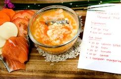 рецепт babyfood Стоковые Фото