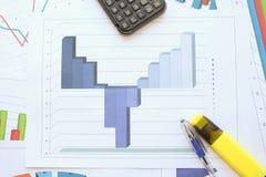 Рецессия, торможение и рост Стоковое фото RF