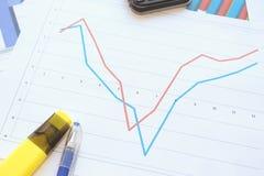 Рецессия, торможение и спасение Стоковые Изображения
