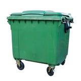 рециркулировать зеленого цвета контейнера стоковая фотография rf