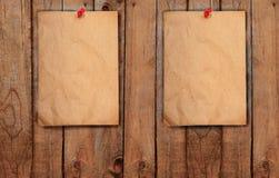 Рециркулируйте бумажную пользу как пусковая площадка примечания Стоковые Фотографии RF
