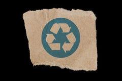 рециркулируйте символ Стоковое Изображение RF