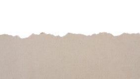 рециркулированная бумага сорванной Стоковые Фото