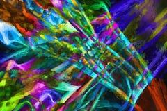 Рециркулированное искусство дыма Стоковое Фото