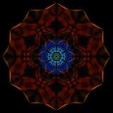 Рециркулированный дизайн искусства дыма Стоковая Фотография RF