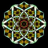 Рециркулированный дизайн искусства дыма Стоковое фото RF
