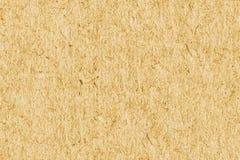 Рециркулируйте бумажный желтый дополнительный образец текстуры Grunge грубого зерна Стоковая Фотография RF