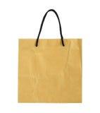 Рециркулируйте коричневую бумажную сумку стоковая фотография rf