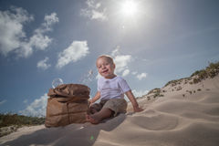 Рециркулируйте младенца number1 Стоковое фото RF