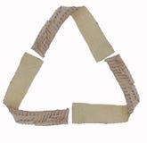 Рециркулируйте логотип Стоковая Фотография RF