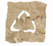 Рециркулируйте логотип Стоковая Фотография