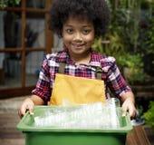 Рециркулирующ пластичные сбережения окружающей среды уменьшите старье стоковая фотография rf