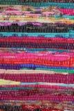 Рециркулирующ, handmade красочный этнический ретро половик Стоковое Изображение RF