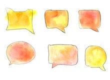 речи персоны пузыря вектор графической говоря Стоковые Изображения