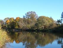 Речной берег Стоковая Фотография RF