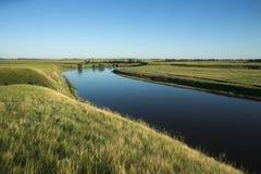 Речной берег Стоковое Изображение RF