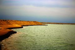 Речной берег Стоковые Изображения RF