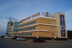 Речной порт Чебоксар Стоковые Фотографии RF