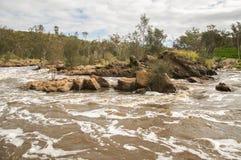 Речные пороги колокола Стоковая Фотография