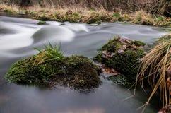 Речные пороги на Jizera Стоковое Фото