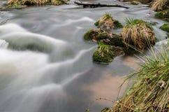 Речные пороги на Jizera Стоковые Фото