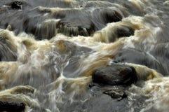 Речные пороги около медных падений Стоковая Фотография