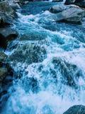 Речные пороги реки Стоковые Изображения