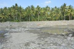 Речн-Mal река, Matanao, Davao del Sur, Филиппины стоковые изображения rf