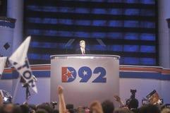 Речь выставления Bill Clinton воевода Стоковое Изображение RF