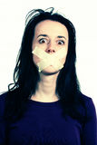 речь прав человека свободы Стоковое фото RF