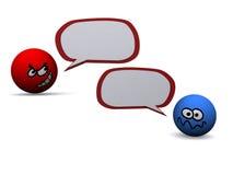речь пузыря Стоковые Фото
