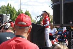 Речь родного города сестер Henderson Стоковое фото RF
