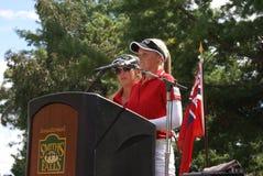 Речь родного города сестер Henderson Стоковое Изображение RF