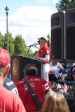 Речь родного города сестер Henderson Стоковая Фотография RF