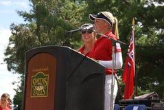 Речь родного города сестер Henderson Стоковое Фото