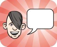 речь стороны emo пузыря бесплатная иллюстрация